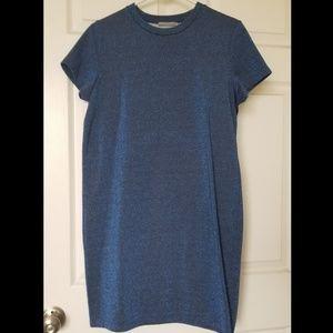 COS sparkly blue dress